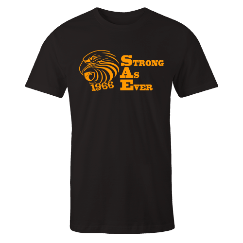 Strong As Ever Black Cotton Shirt