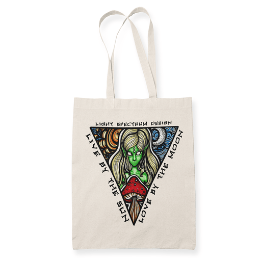 Sunmoon Sublimation Canvass Tote Bag