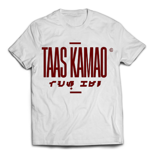 TAAS KAMAO White Cotton Shirt