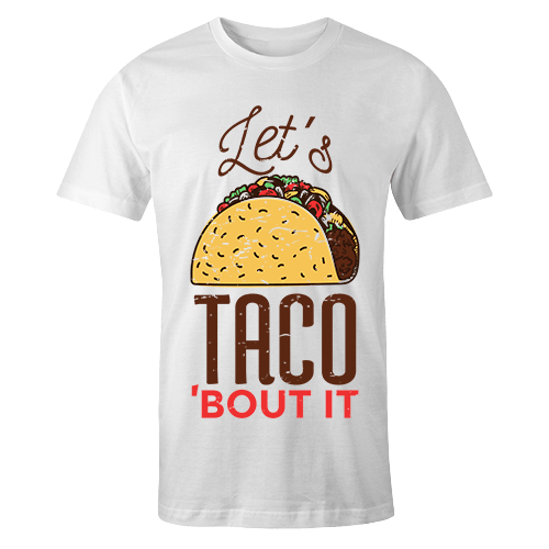 Taco Sublimation Dryfit Shirt
