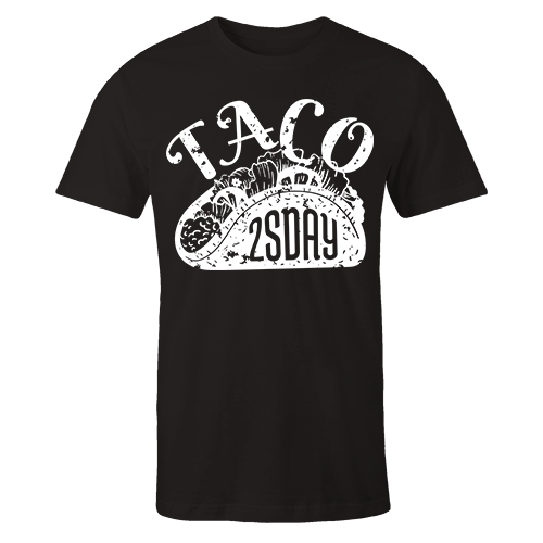Taco Black Cotton Shirt