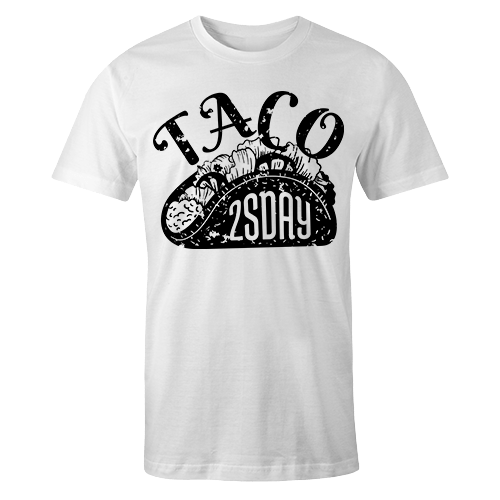 Taco White Cotton Shirt