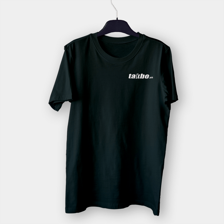 Takbo PH v2 Black Embroidered Shirt