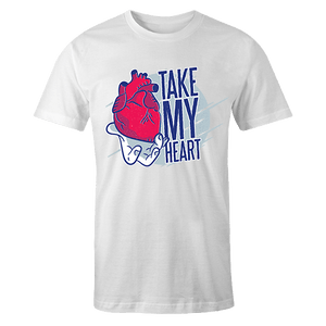 Take my heart Sublimation Dryfit Shirt