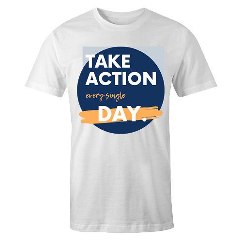 Take Action Sublimation Dryfit Shirt