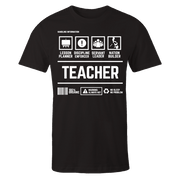 Teacher Handling Black Shirt