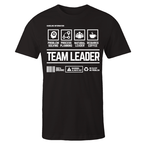Team Leader Handling Black Shirt