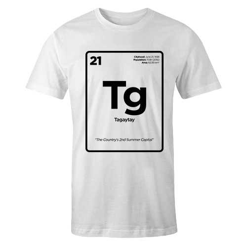 Periodic Table Series - Taguig Cotton Shirt