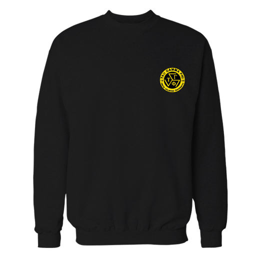 TGP Logo Black Embroidered Sweatshirt