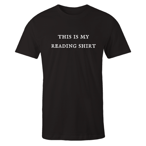 This my reading Black Cotton Shirt