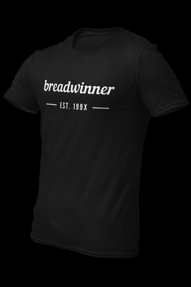 Bread Winner Black Cotton Shirt
