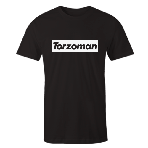 Torzoman Black Cotton Shirt