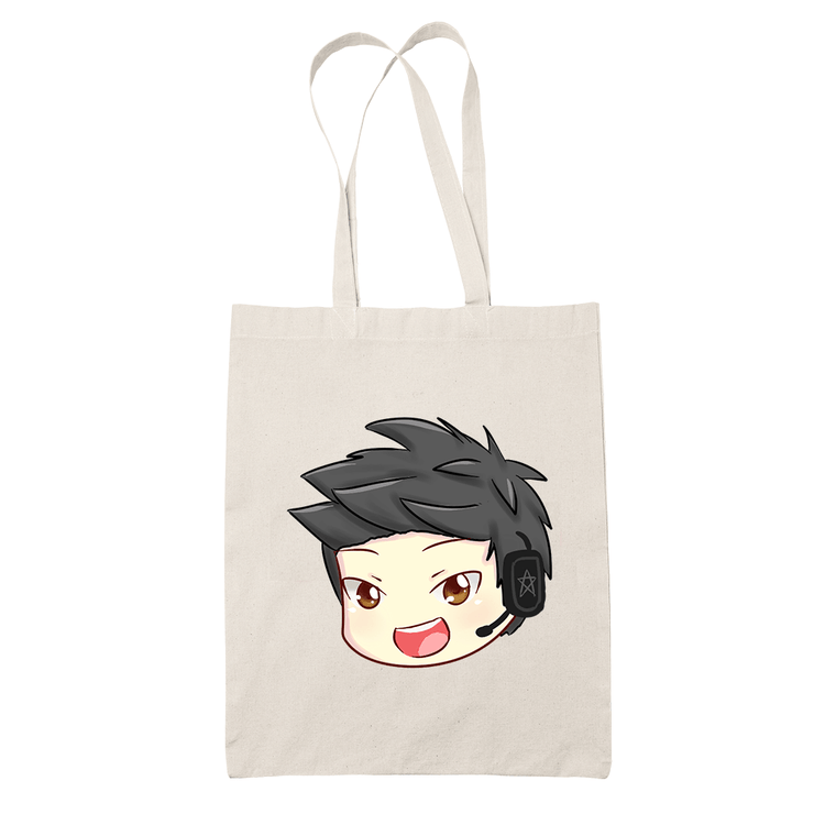 Ameishja Head Sublimation Canvass Tote Bag