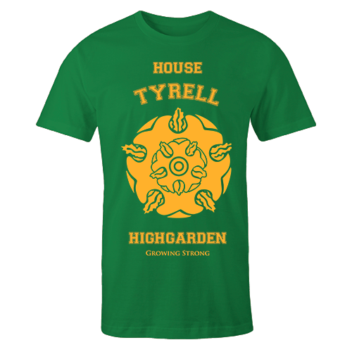 House Tyrell Green Cotton Shirt