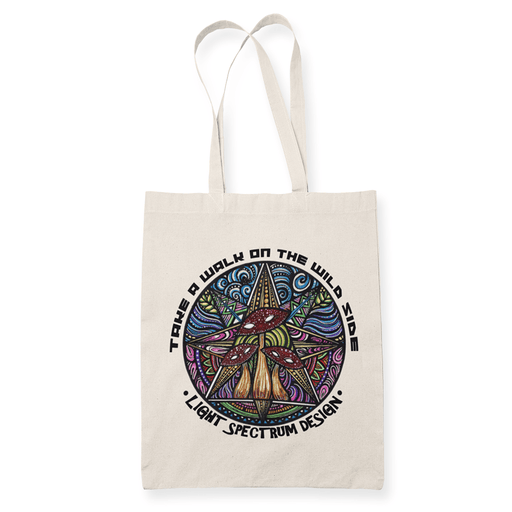Take a walk Sublimation Canvass Tote Bag