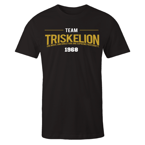 Team Triskelion Black Cotton Shirt