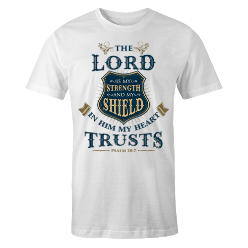 The LORD is my Strength Sublimation Dryfit Shirt