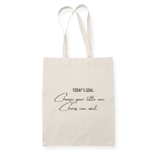 Todays Goal Sublimation Canvass Tote Bag