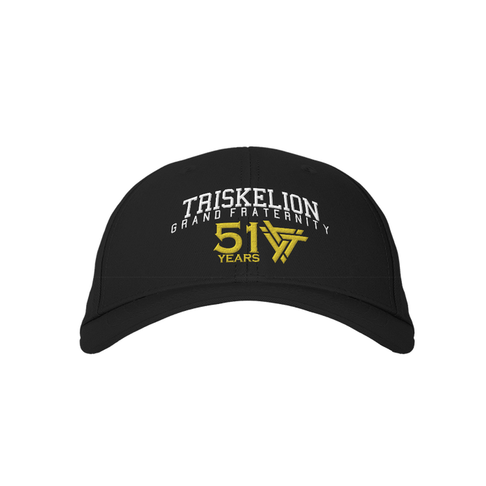 Triskelion Grand 51 Black Embroidered Cap