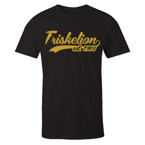 Triskelion Swash Black Cotton Shirt