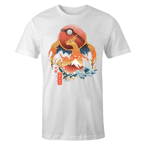 Ukiyo Charizard Sublimation Dryfit Shirt