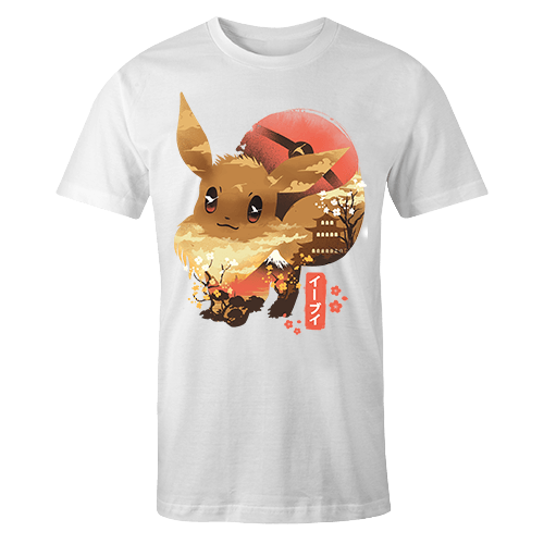 Ukiyo Eevee Sublimation Dryfit Shirt