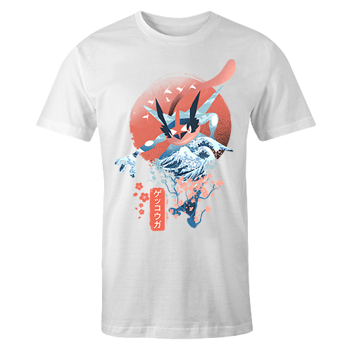 Ukiyo Greninja Sublimation Dryfit Shirt