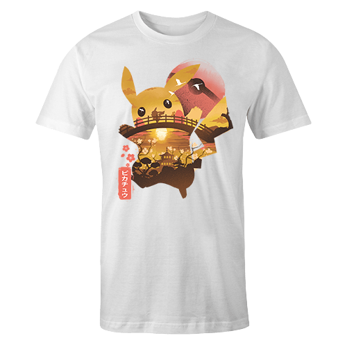 Ukiyo Pikachu Sublimation Dryfit Shirt