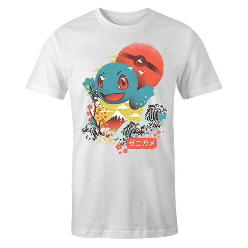 Ukiyo Squirtle Sublimation Dryfit Shirt