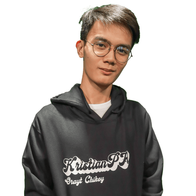 KristianPH Black Hoodie of Kristian PH Merch