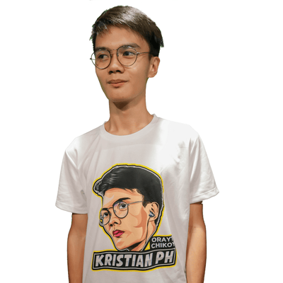 Orayt Chikoy Kristian PH Sublimation Dryfit Shirt of Kristian PH Merch
