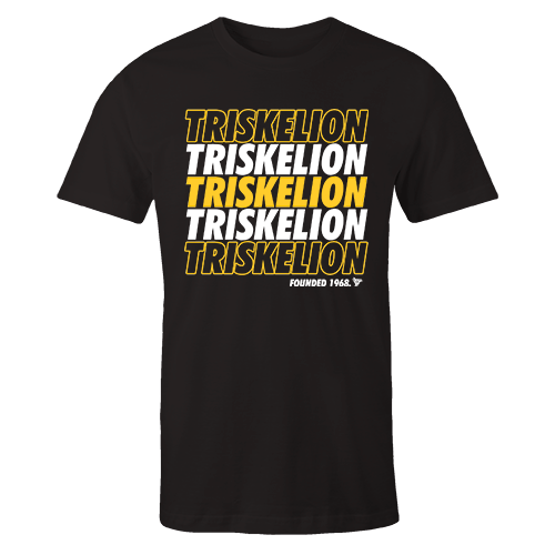 Triskelion V Black Cotton Shirt