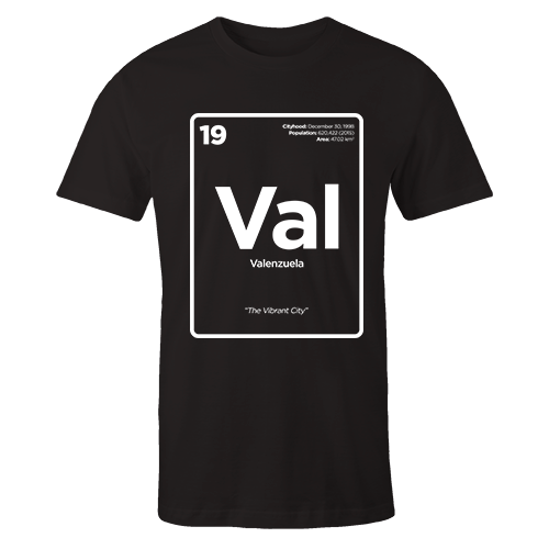 Periodic Table Series - Valenzuela Cotton Shirt