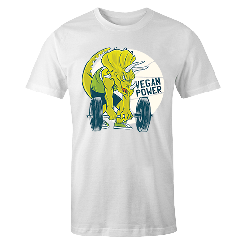 Vegan Strength Sublimation Dryfit Shirt