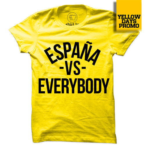 VS EVERYBODY Yellow Cotton Shirt