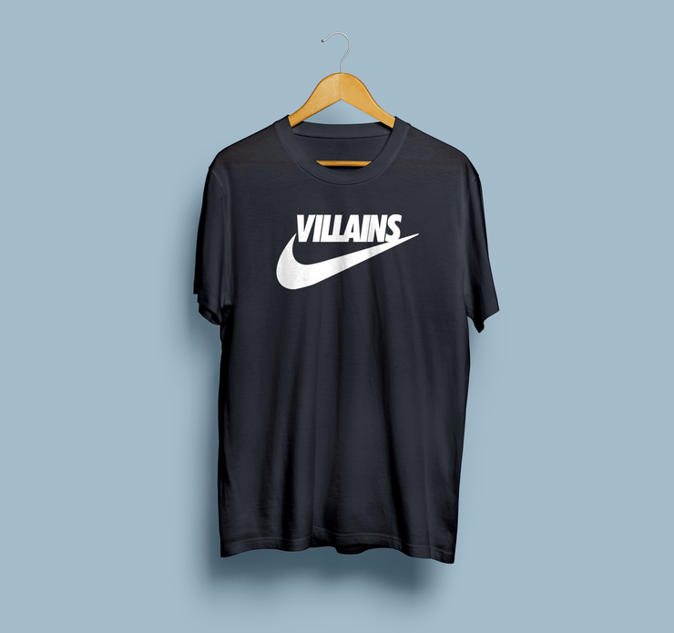 Villains Black Cotton Shirt