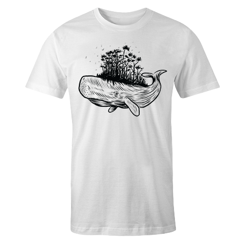 Whale Sublimation Dryfit Shirt