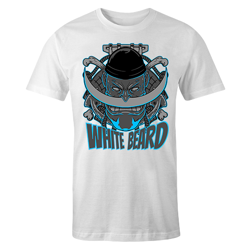 White Beard Sublimation Dryfit Shirt