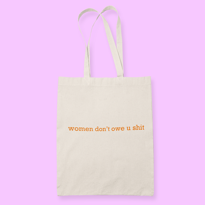 Women Sublimation Canvass Tote Bag