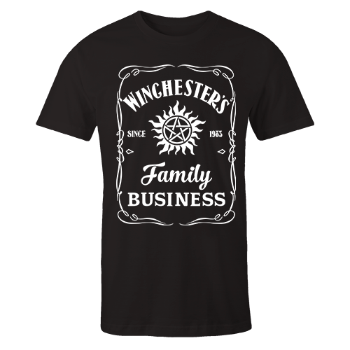 Winchester Family Business Black Cotton Shirt