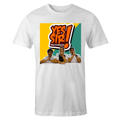 Yes Sir Mga KaibiganSublimation Dryfit Shirt