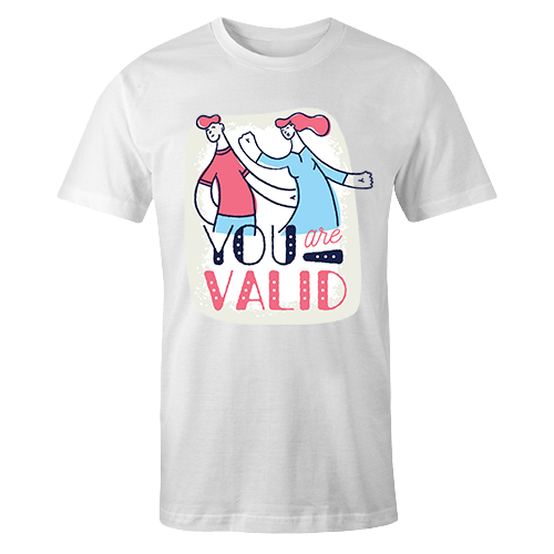 You are Valid Sublimation Dryfit Shirt