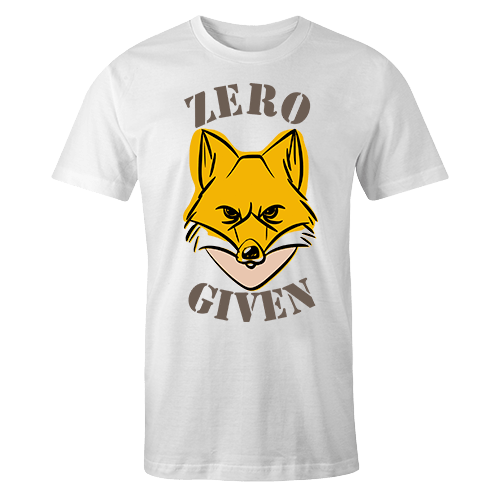 Zero Fox Given Sublimation Dryfit Shirt