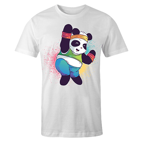 Zumba Panda Sublimation Dryfit Shirt