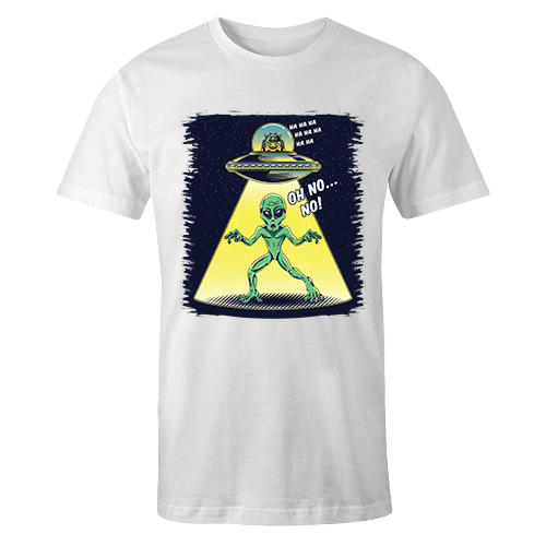 Cow Vs. Alien Sublimation Dryfit Shirt
