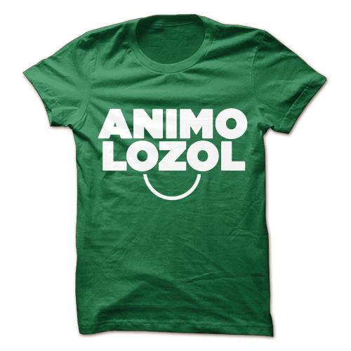 Animo Lozol Conyo Green Cotton Shirt