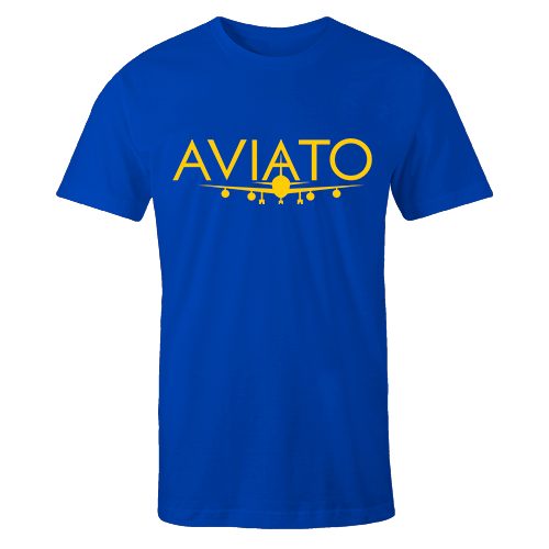 Aviato Blue Cotton Shirt