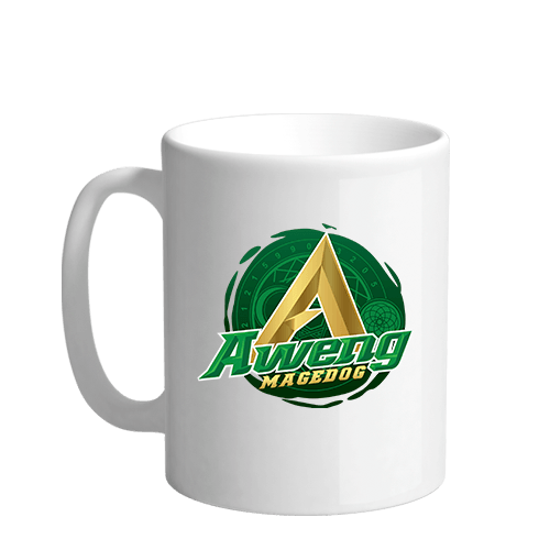 Aweng 1 Sublimation White Mug