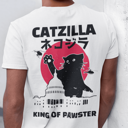 Catzilla Sublimation Dryfit Shirt Front and Back Print