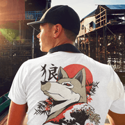 Wolf Wave Sublimation Dryfit Shirt Front and Back Print